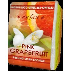 Мыло-губка Розовый грейпфрут Refan