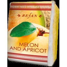 Мыло-губка Дыня и абрикос Refan 75г