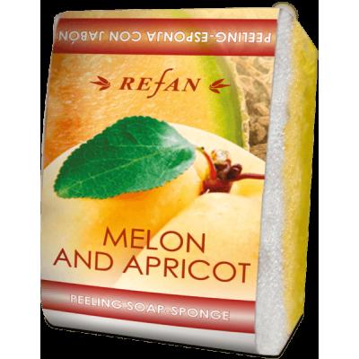 Мыло-губка Дыня и абрикос Refan