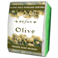 Мыло-губка Олива Refan 75г