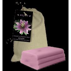 Мыло Йогурт и Маракуйя в холщевом мешочке Refan 100 г