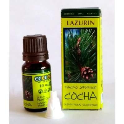 Натуральное эфирное сосновое масло Lazurin, 10 мл
