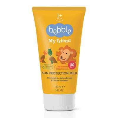 Детское Молочко солнцезащитное Bebble My Friend SPF 50, 150 мл